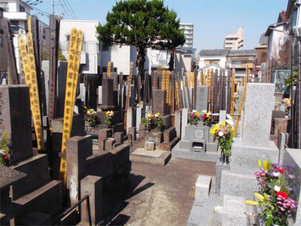 長源寺 墓地