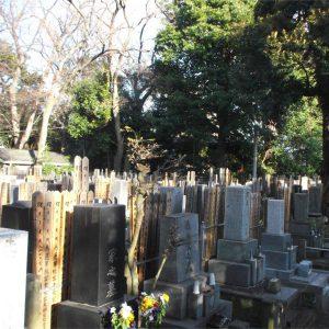 行慶寺 墓地