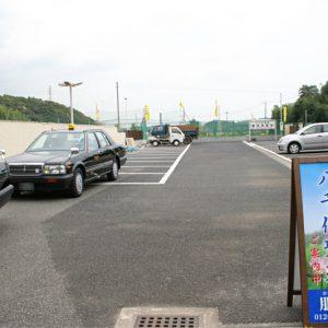 八千代聖苑 駐車場