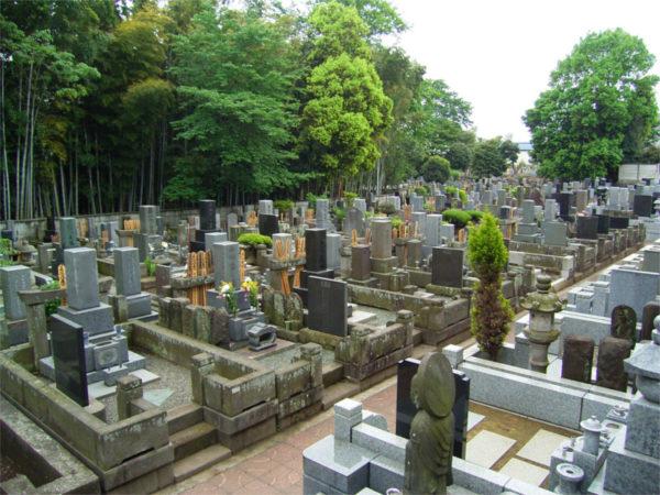 妙福寺 墓地