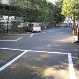妙定院 駐車場
