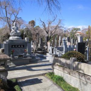 薬王院 墓地